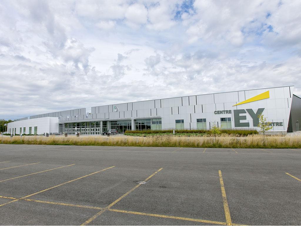 EY Centre parking lot