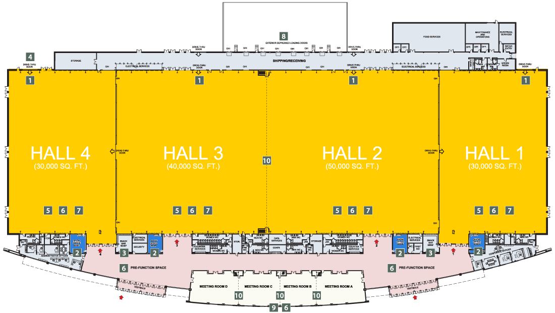 EY Centre floor plan