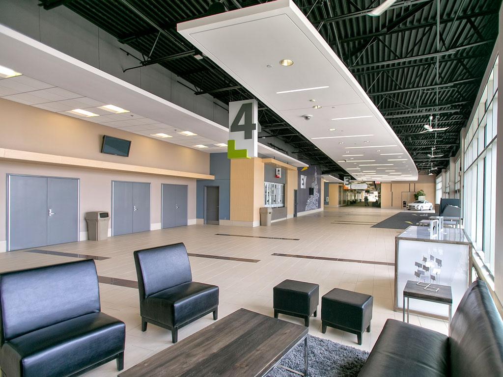 EY Centre Entrance