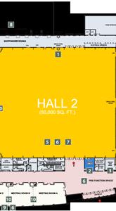 EY Centre Floor Plan Hall 2